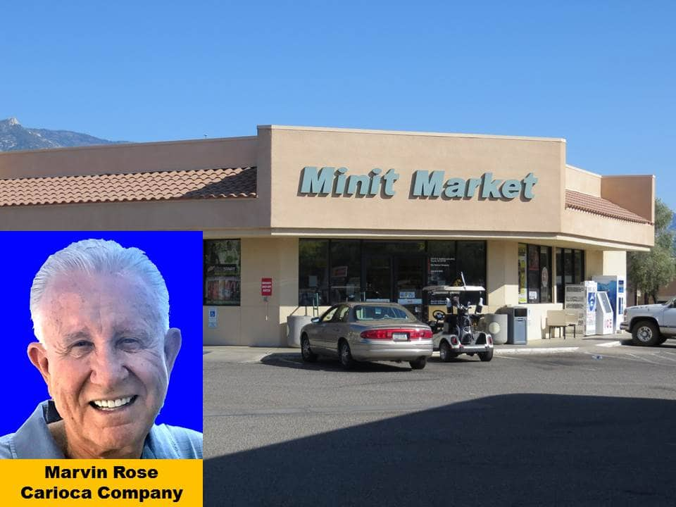 Minit Market in SaddleBrooke Commercial Center Marvin Rose