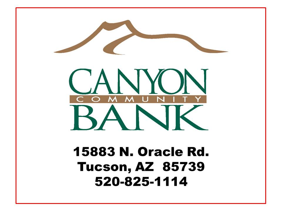 Canyon Community Bank Business Card