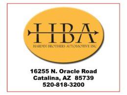 Hardin Brothers Automotive Business Card